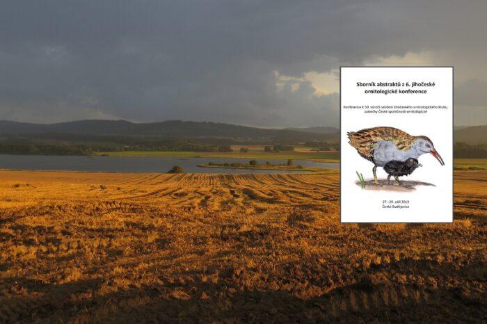 Vyšel Sborník abstraktů 6. ornitologické konference Jihočeského ornitologického klubu