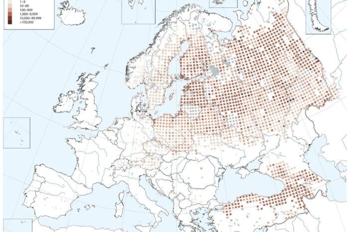 Přípravy na vydání druhého Evropského atlasu hnízdního rozšíření ptáků finišují